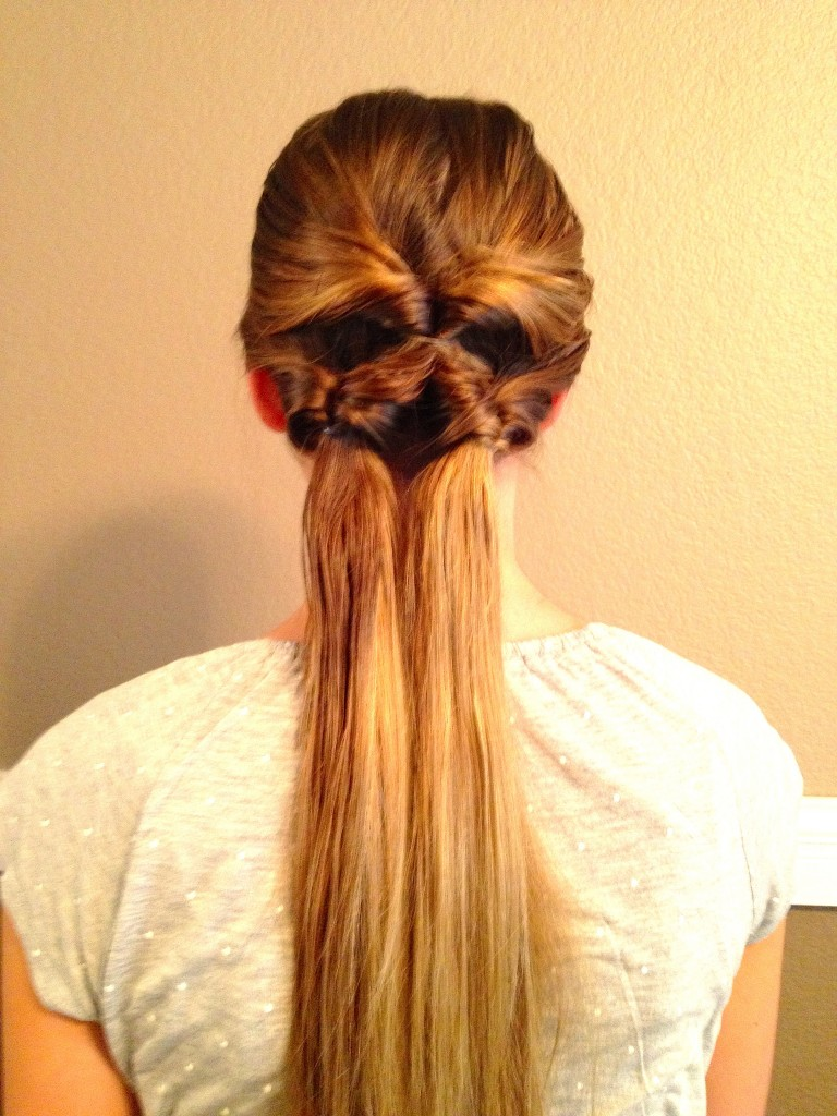 inventing new hairstyles