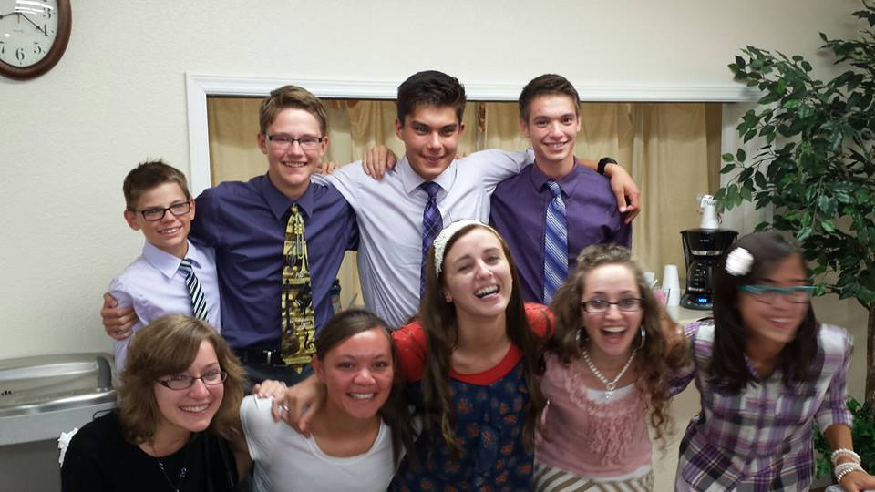 love this youth group!! (notice my extreme pain in crouching….it's sad i know)