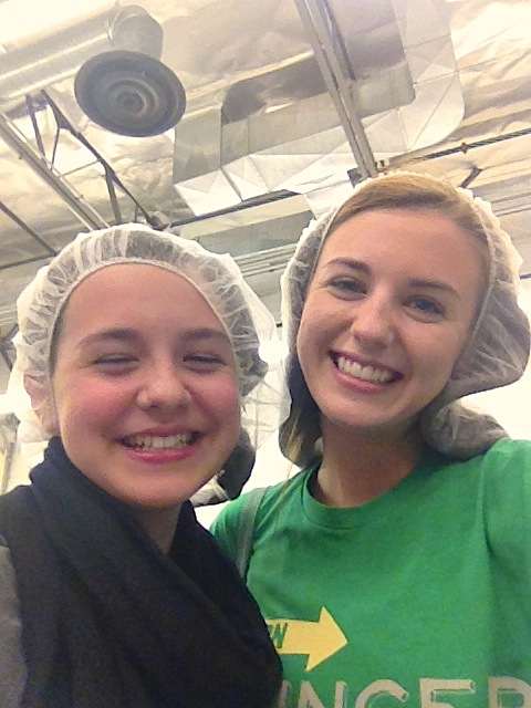 no one looks good in a hair net…no one