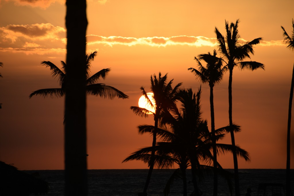 Nothing quite like a Hawaiian sunset